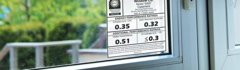 How to Read a Window Energy Efficiency Label