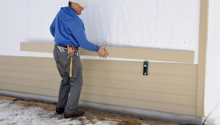 The Siding Installation Process