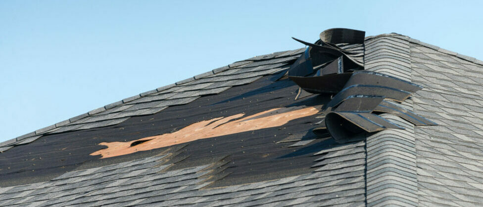 storm and hail damage to your roof