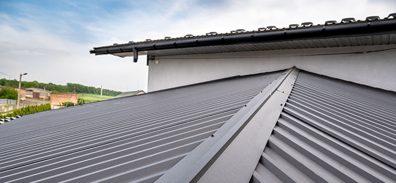 how to clean and repair a metal roof
