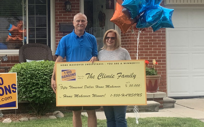 2020 $50,000 Home Makeover Sweepstakes Winners